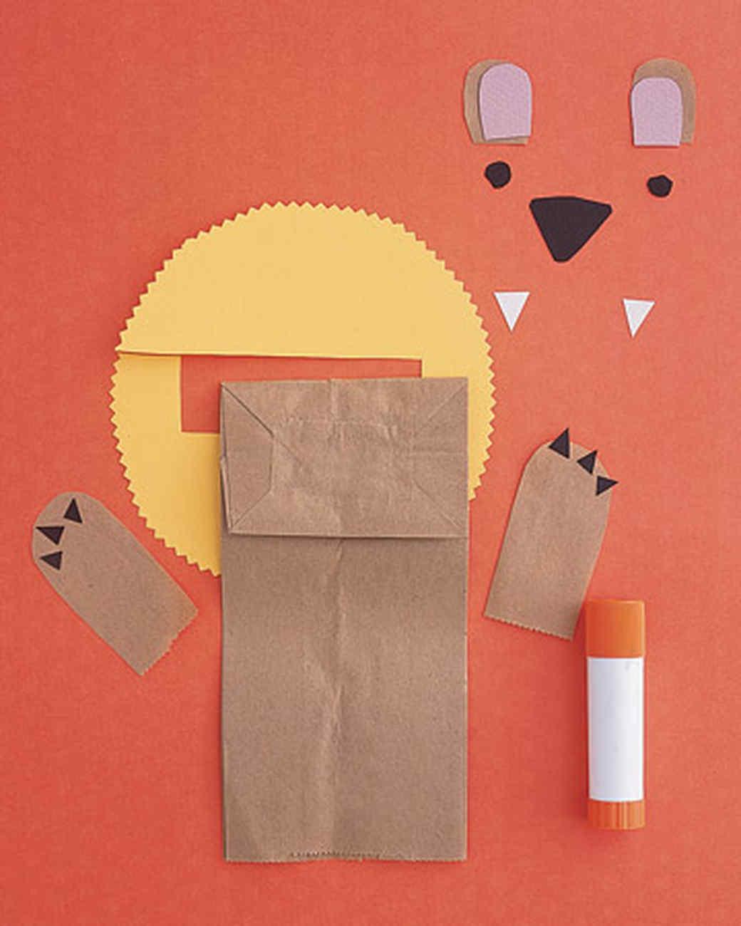 Как сделать нос из картона