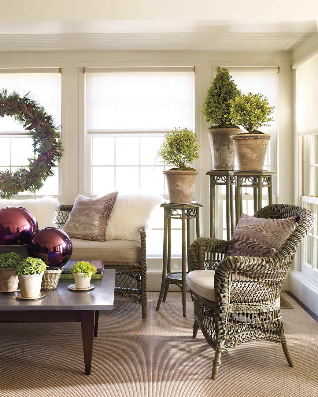 A Woodland Christmas At Martha S House Martha Stewart