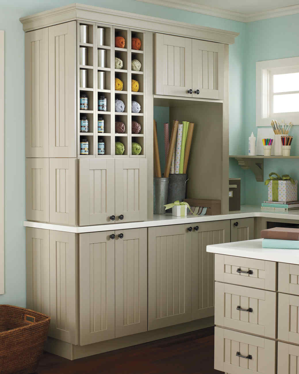 Martha stewart living cabinet solutions from the home for Kitchen craft cabinets home depot