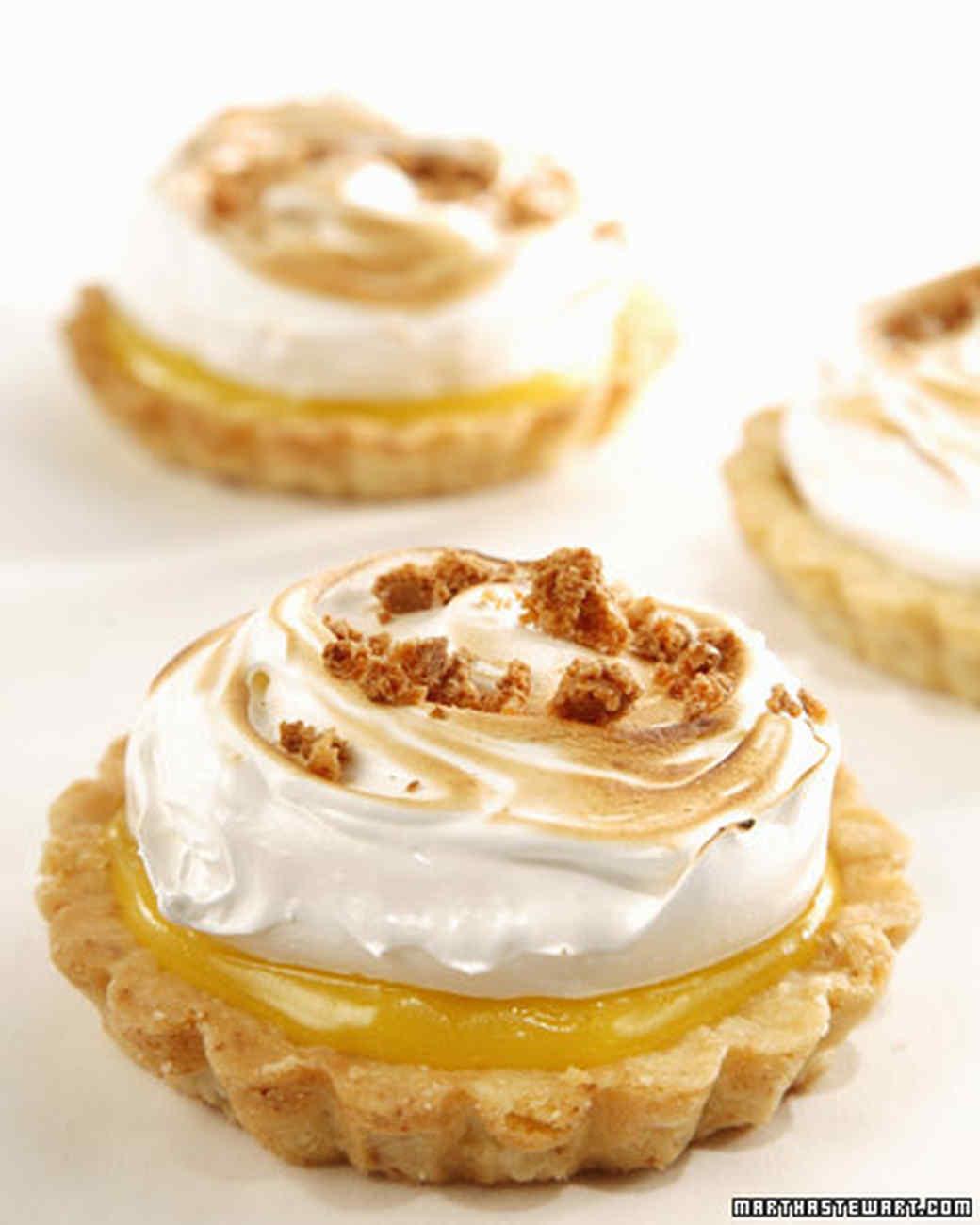 Lemon Almond Meringue Tart Recipe Amp Video Martha Stewart
