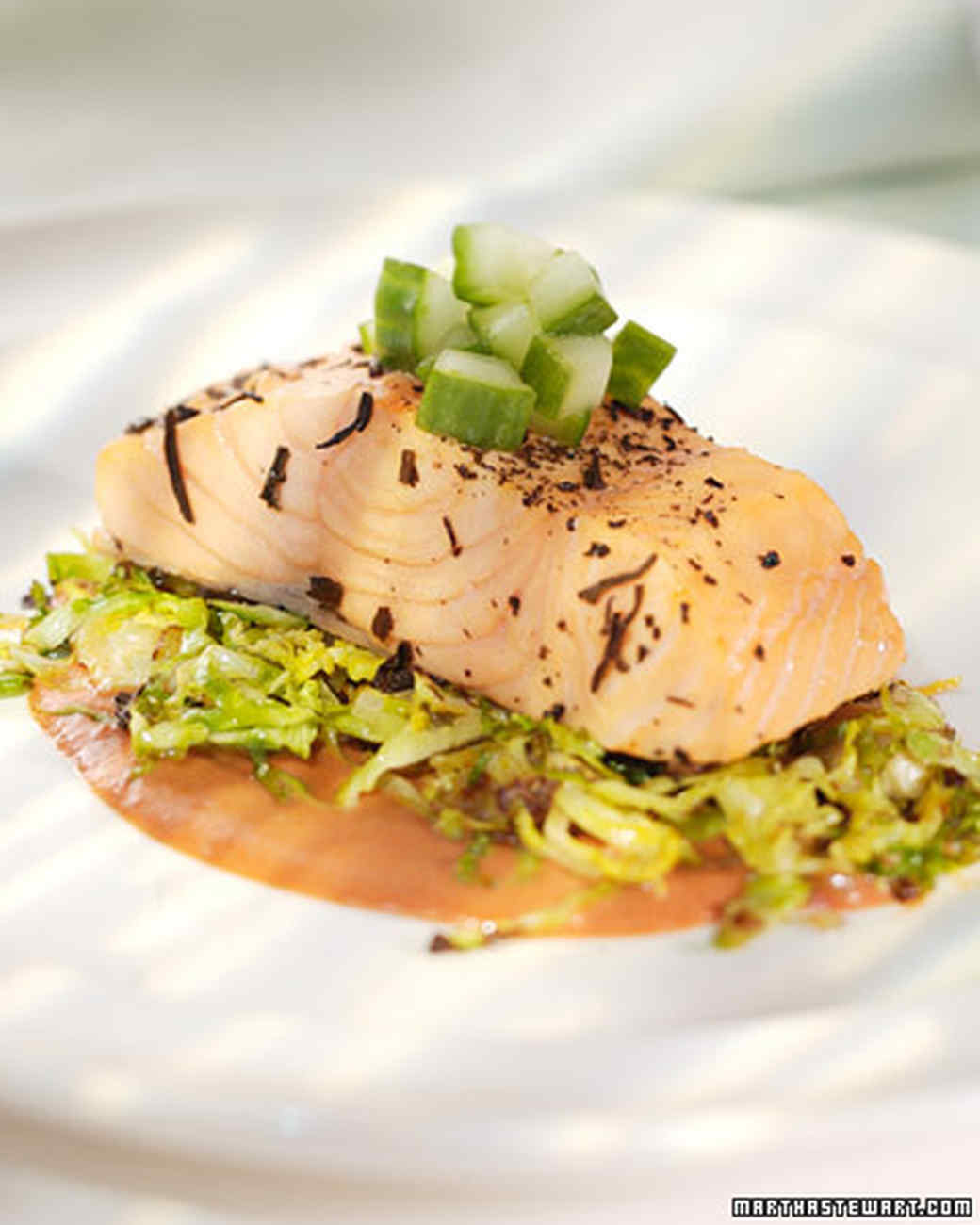 Tea-Poached Salmon Recipe & Video