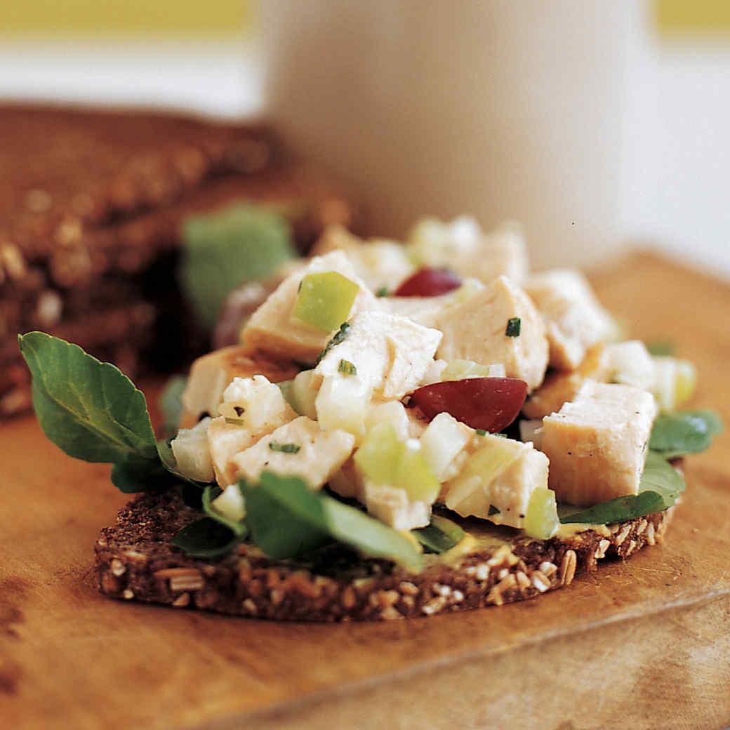 Mayo-Free Chicken Salad