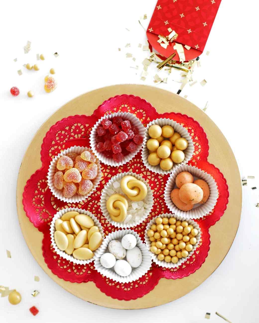 Chinese New Year Candy Tray Martha Stewart