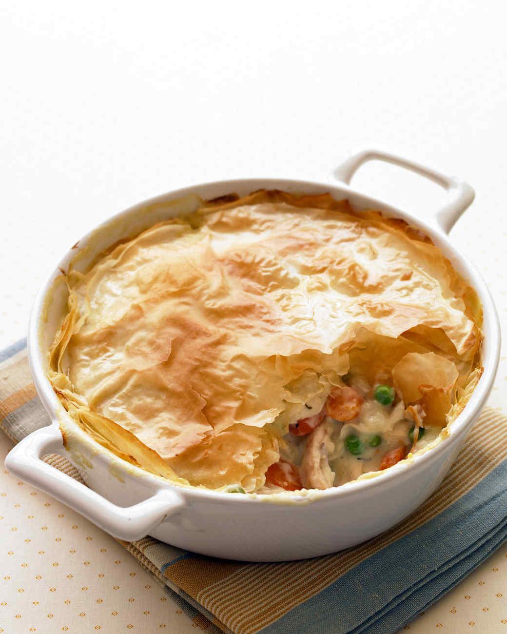 Easy chicken pot pie recipe healthy