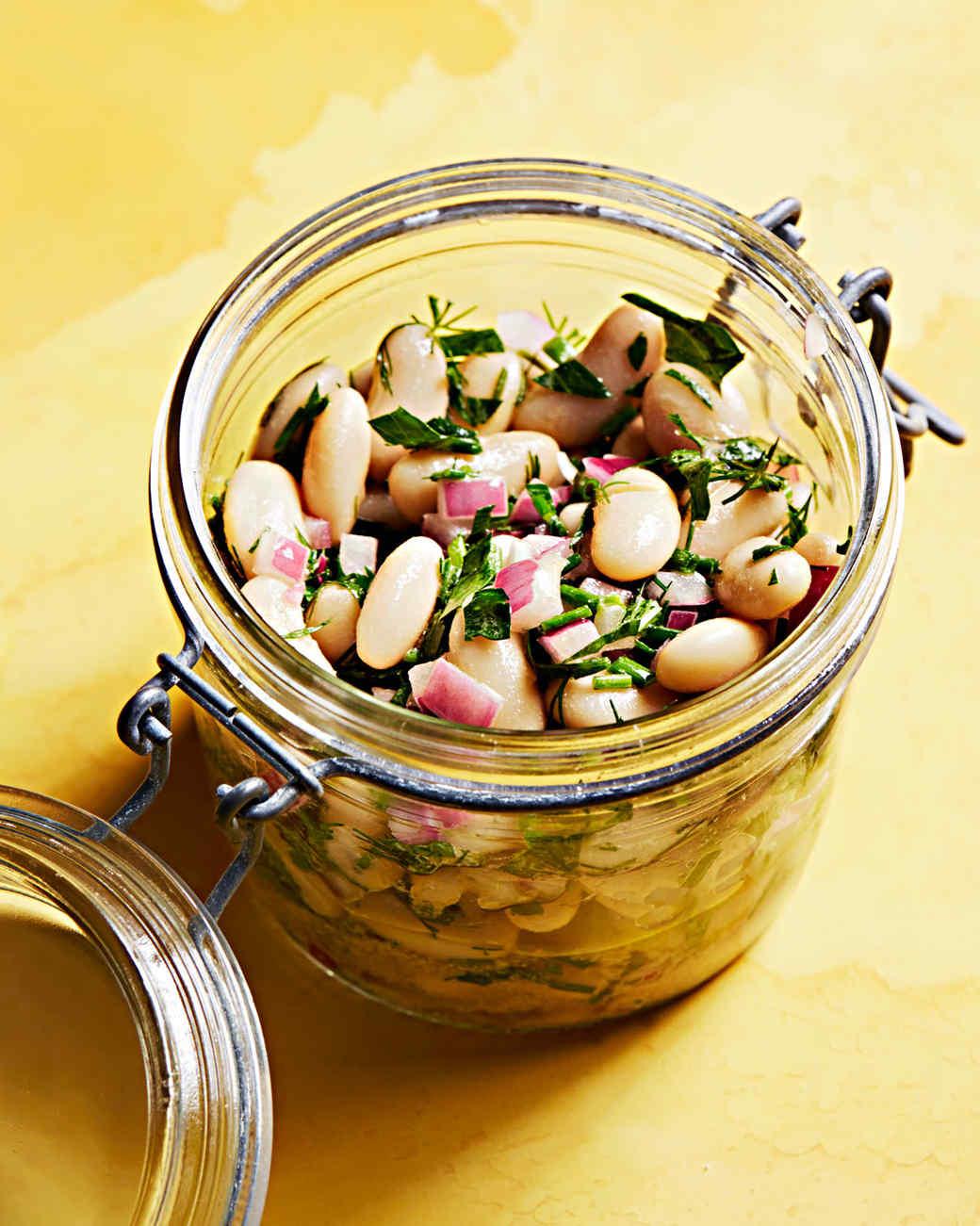 herbed bean salad