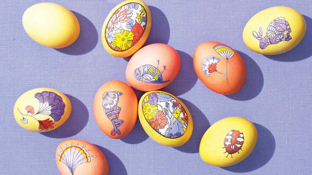 Easter Egg Clip-Art Templates