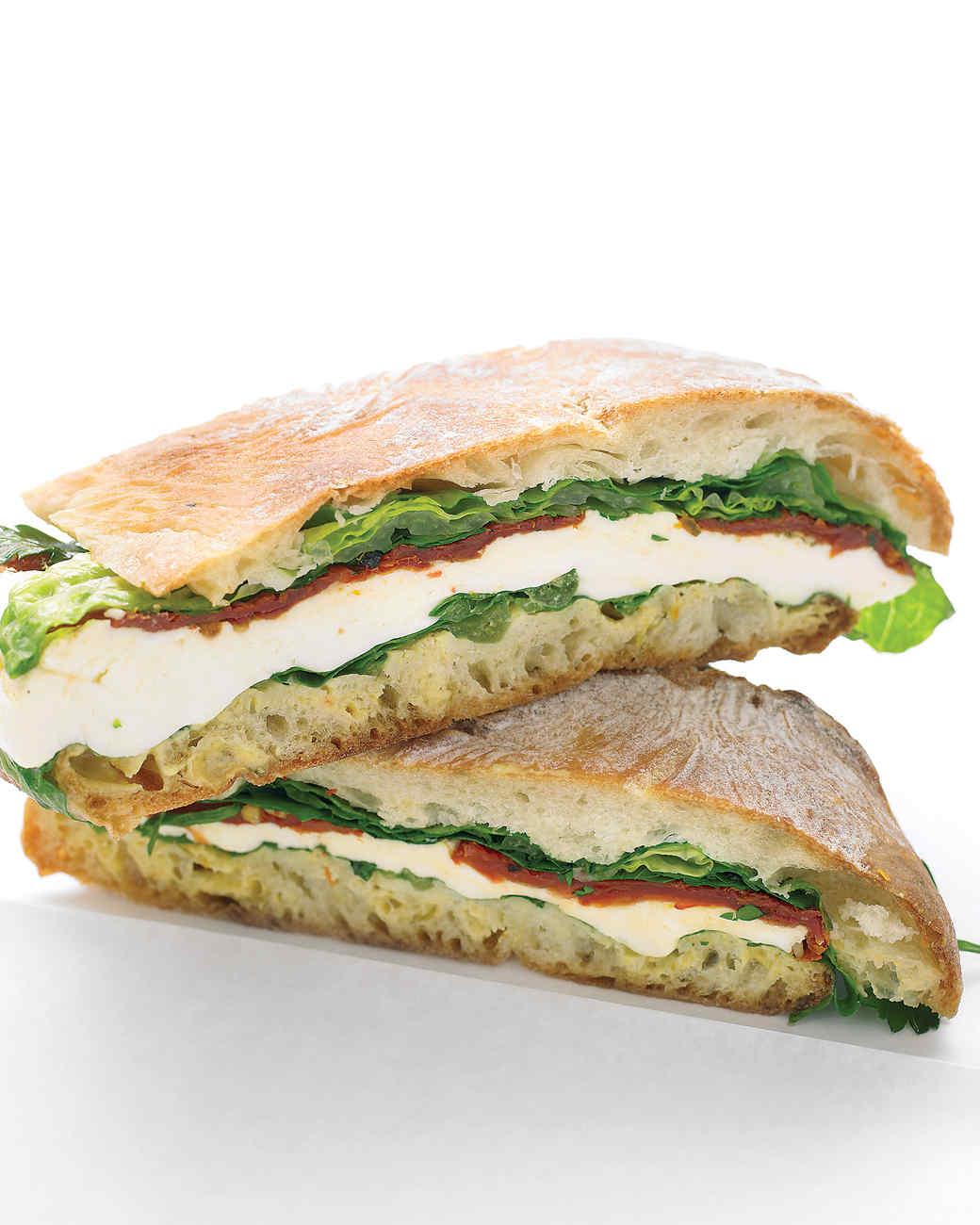 Сэндвич в дорогу рецепты
