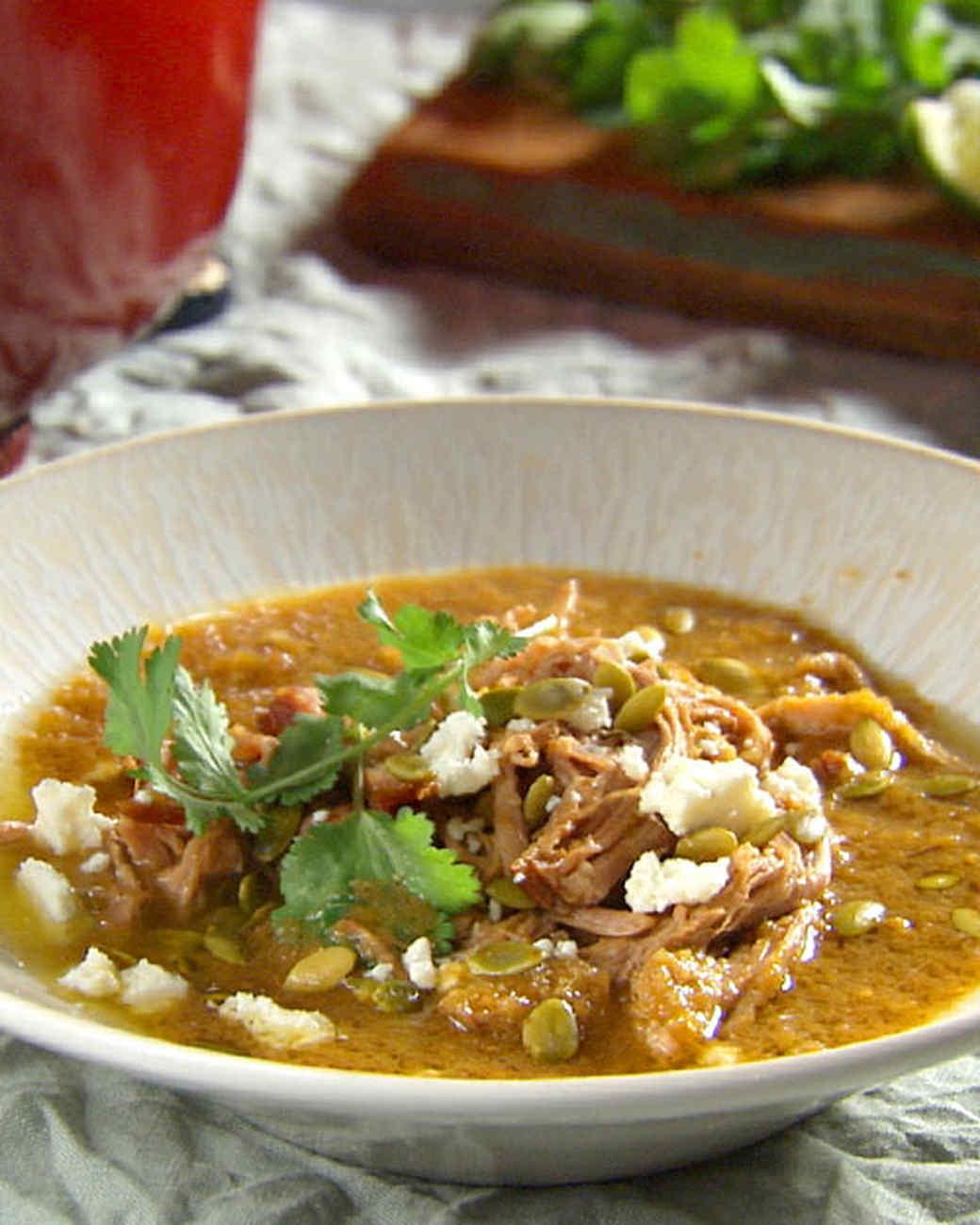 Tomatillo pork stew recipes