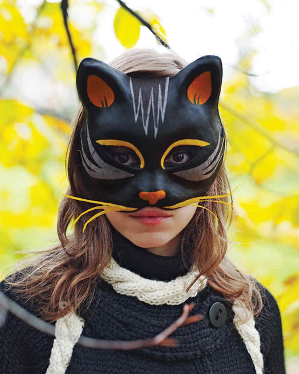 Halloween Masks and Headpieces | Martha Stewart