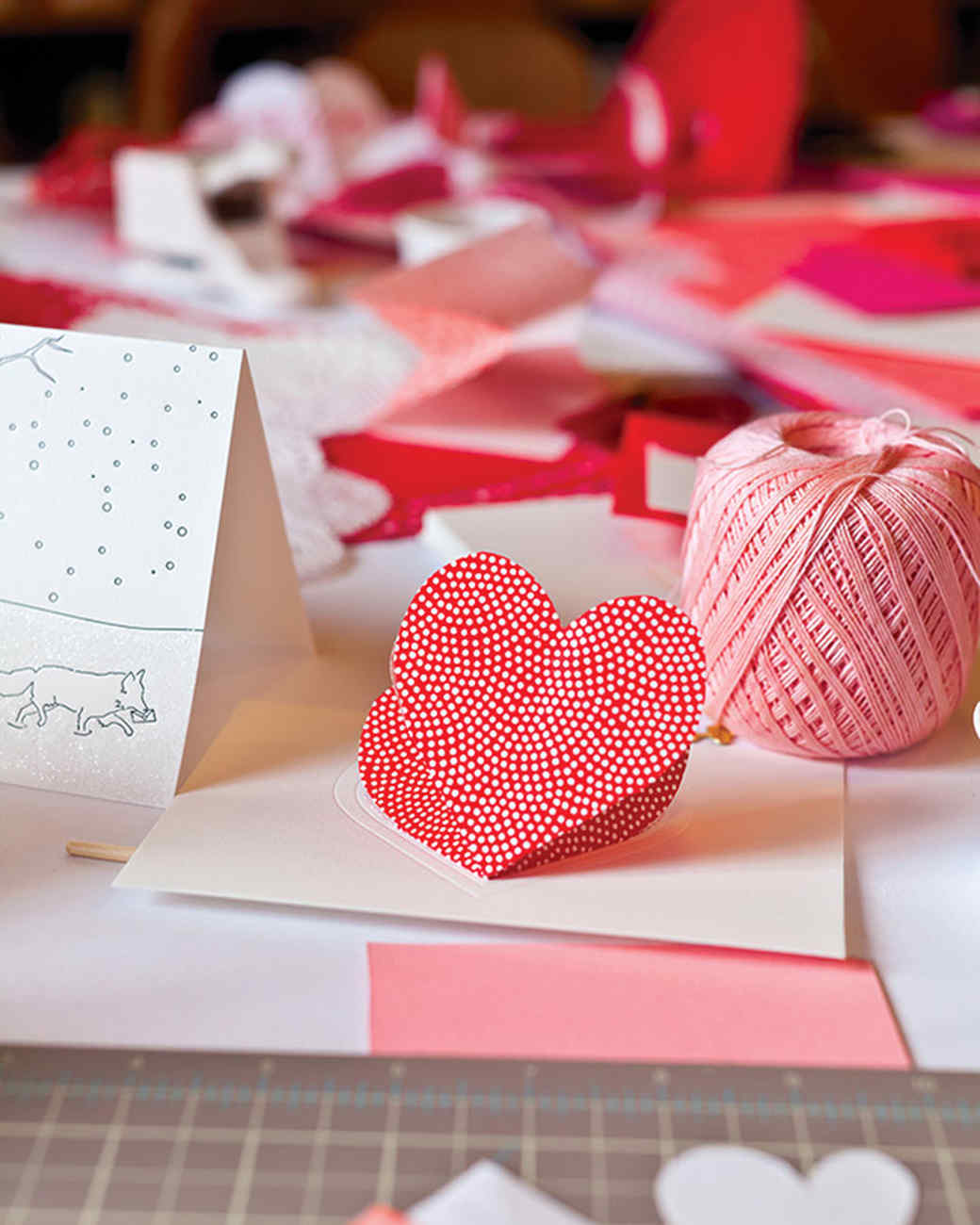 HeartintheFold Valentines Day Card – Martha Stewart Valentines Day Cards