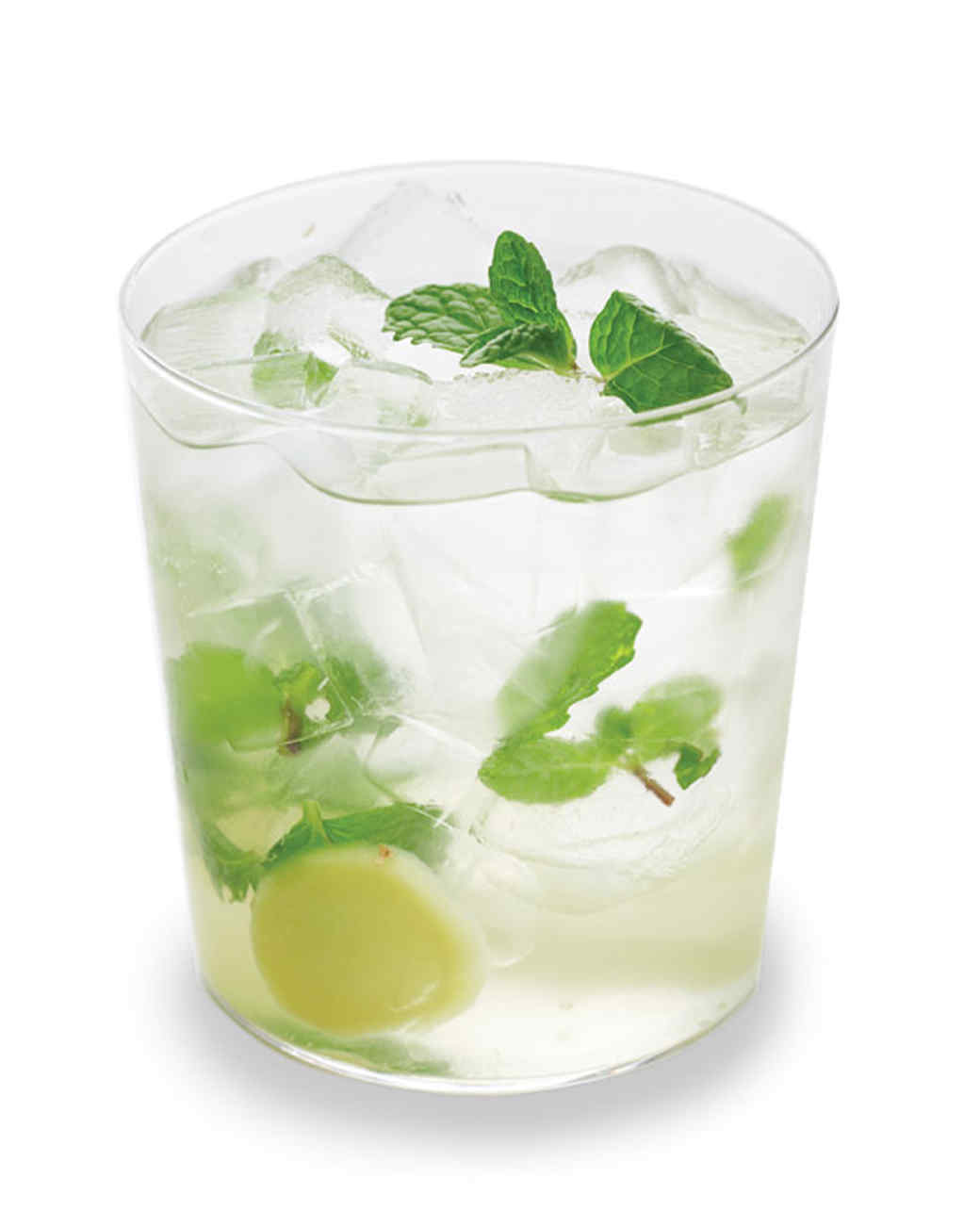 Mint ginger caipiroska recipe martha stewart for Good cocktails with vodka