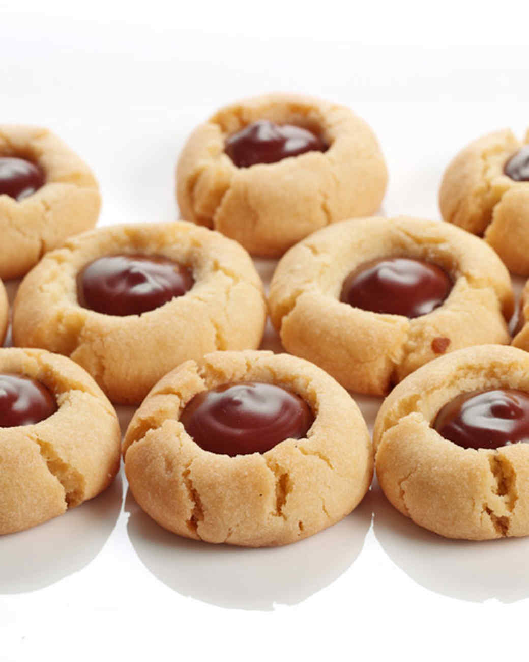 Martha Stewart Carrot Cake Thumbprint Cookies