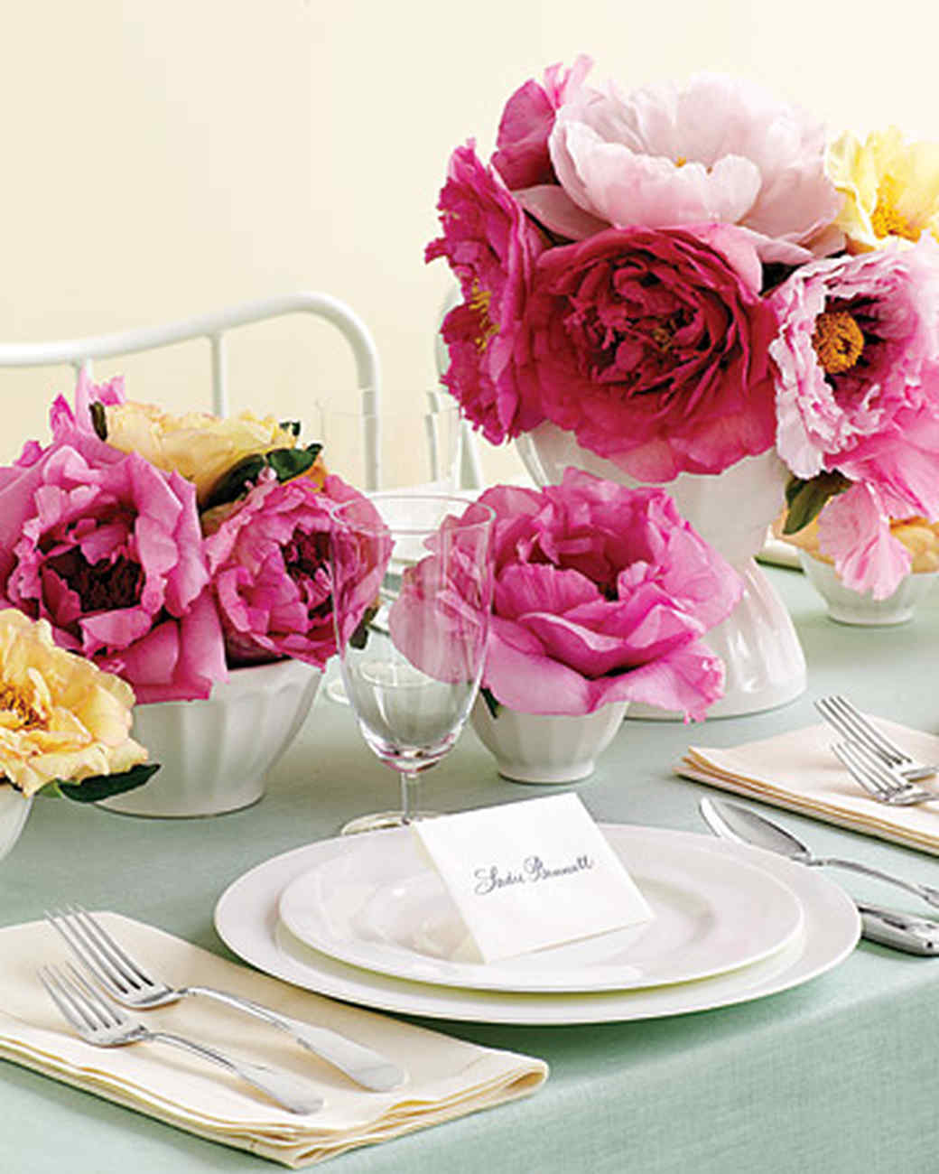 Brunch themed baby shower martha stewart for Baby shower decoration ideas martha stewart