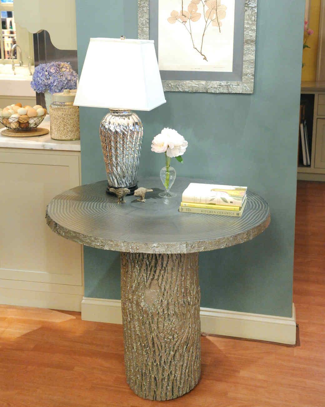 Tree stump table - Tree Stump Table