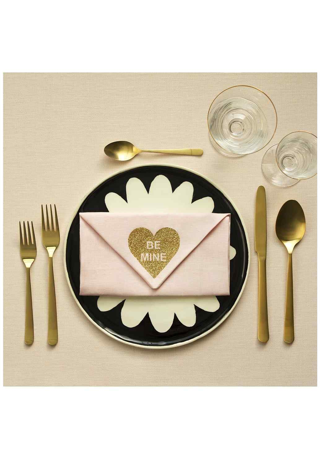 DIY Valentines: A Love-Note Napkin