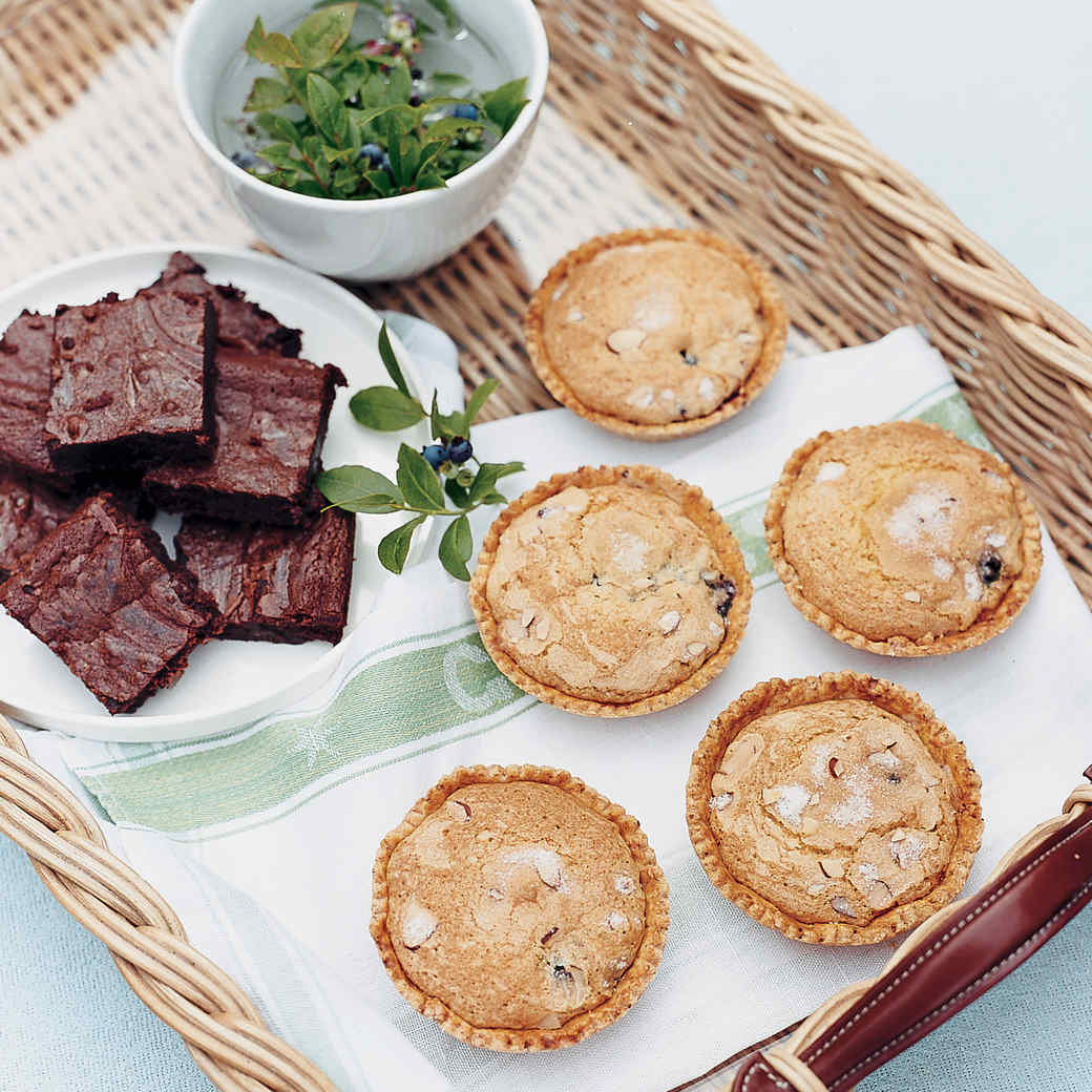 Blueberry Jam Tartlets