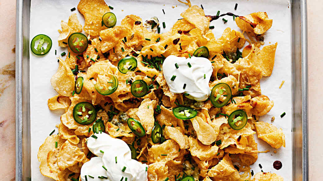 Kettle-Chip Nachos