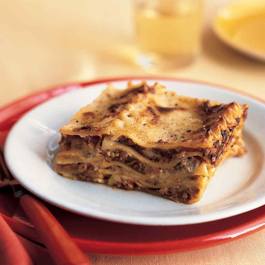 Lasagna Bolognese 101