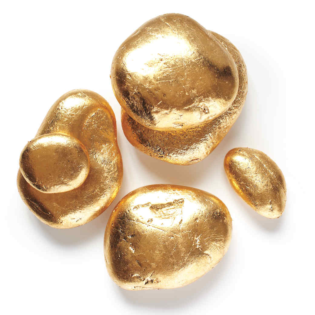 Gold Tabletop Stones