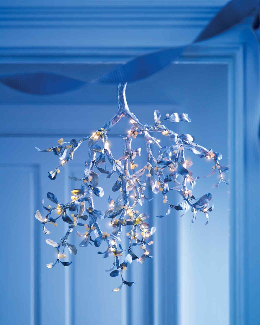 Silver Mistletoe Chandelier – Martha Stewart Chandelier