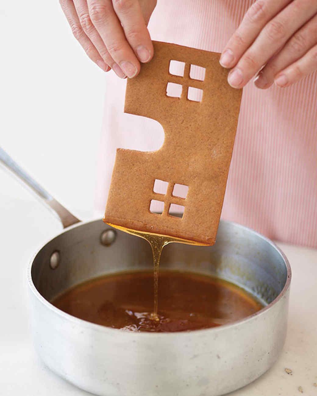 swedish gingerbread house how to martha stewart. Black Bedroom Furniture Sets. Home Design Ideas