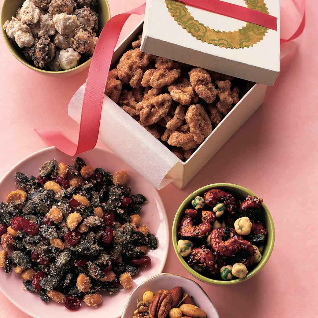 Maple-Sugared Walnuts
