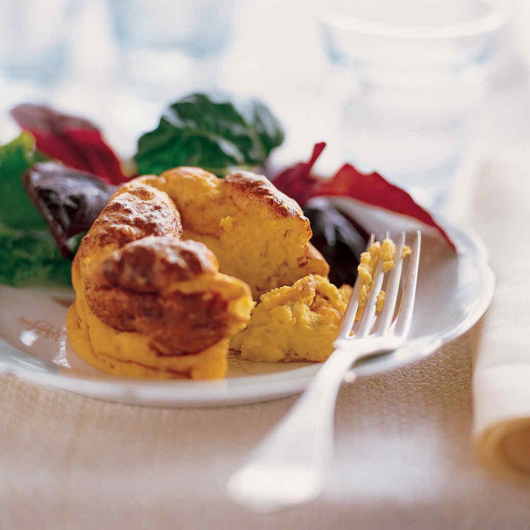Orange Hokkaido Squash Souffles