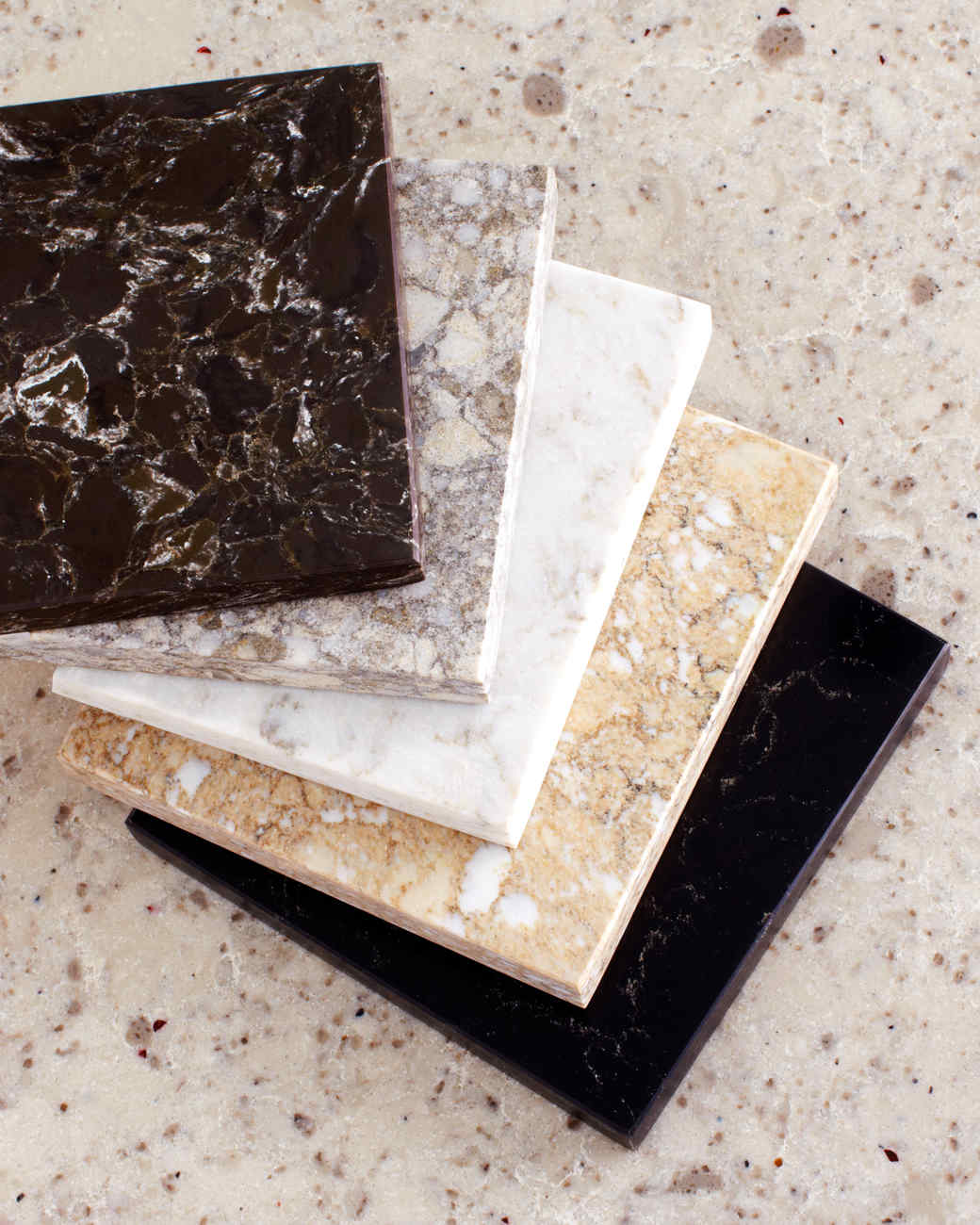 Corian vs quartz free granite vs quartz countertops learn for Quartz countertop slab dimensions