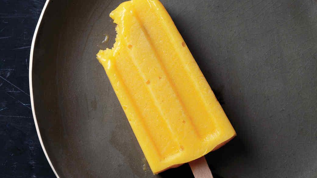 Creamy Mango Pops