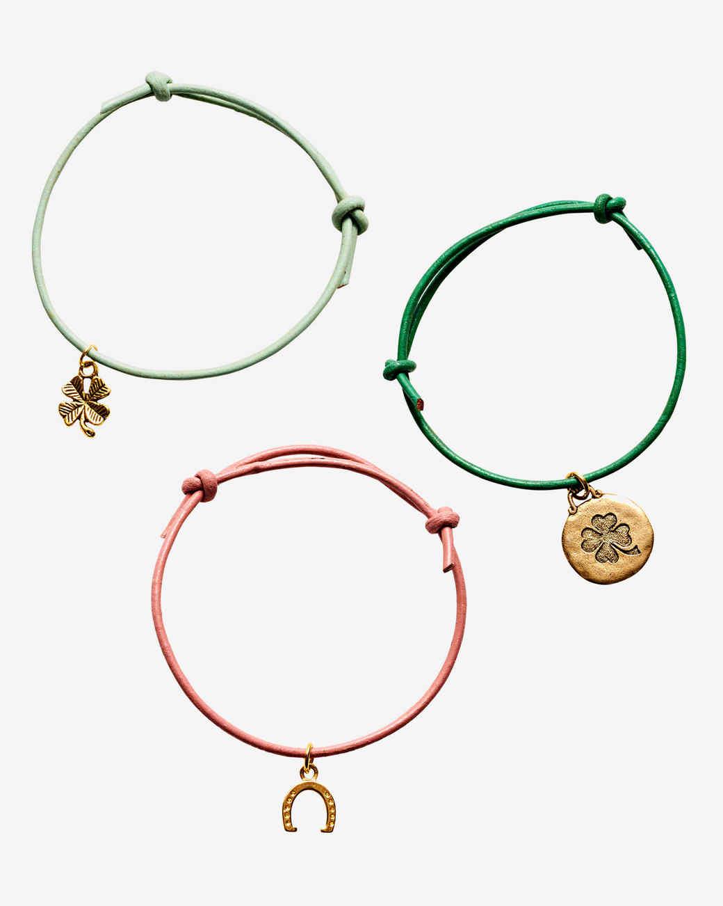 Lucky Charm Bracelets Martha Stewart
