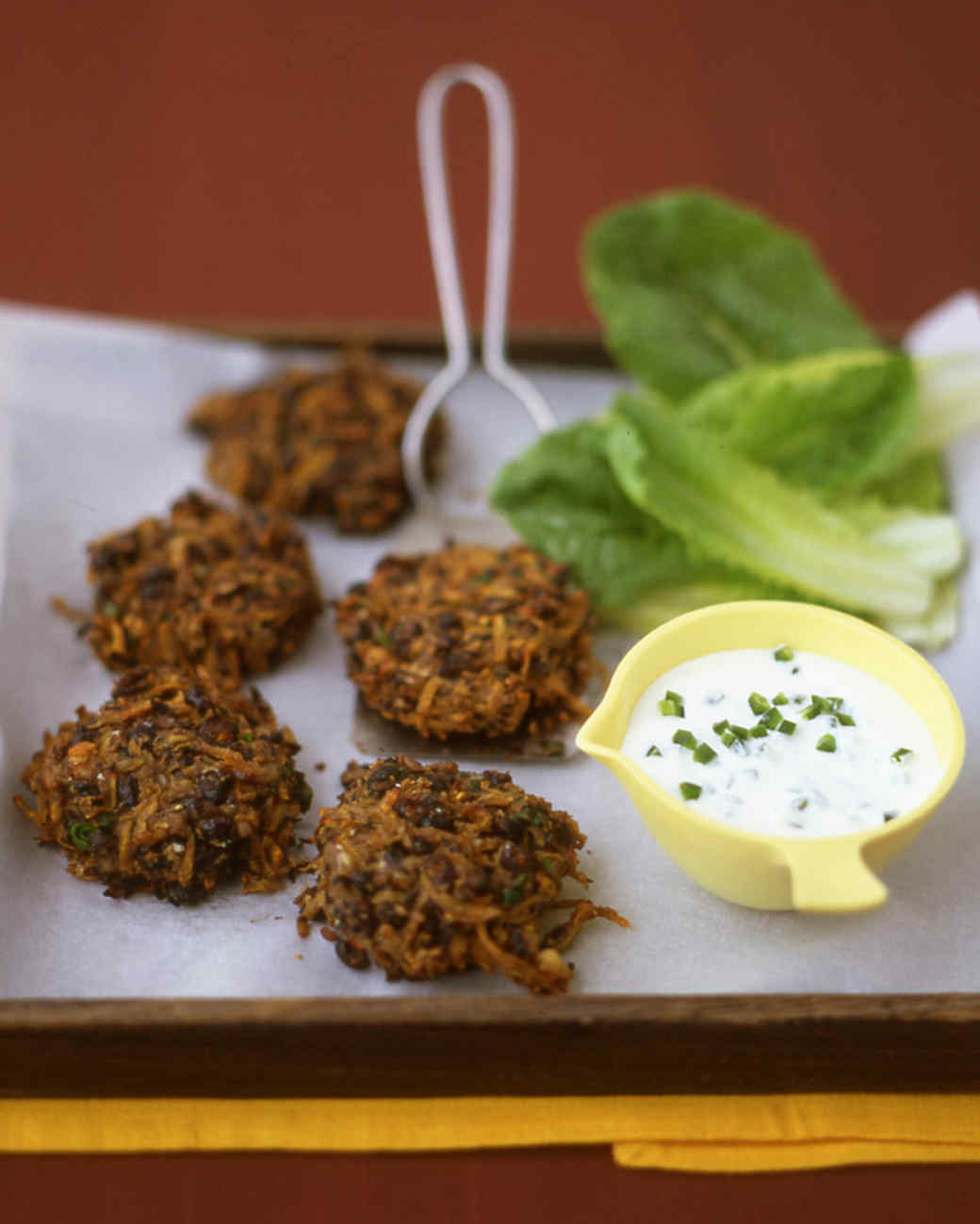 Spicy Black-Bean Cakes