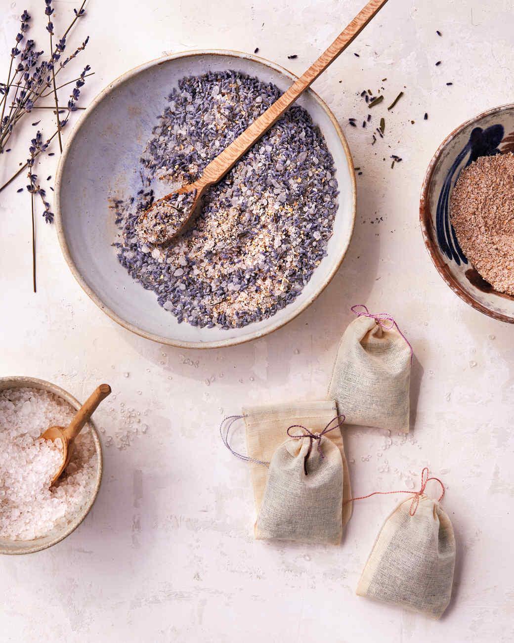 Lavender Quot Tub Tea Quot Martha Stewart