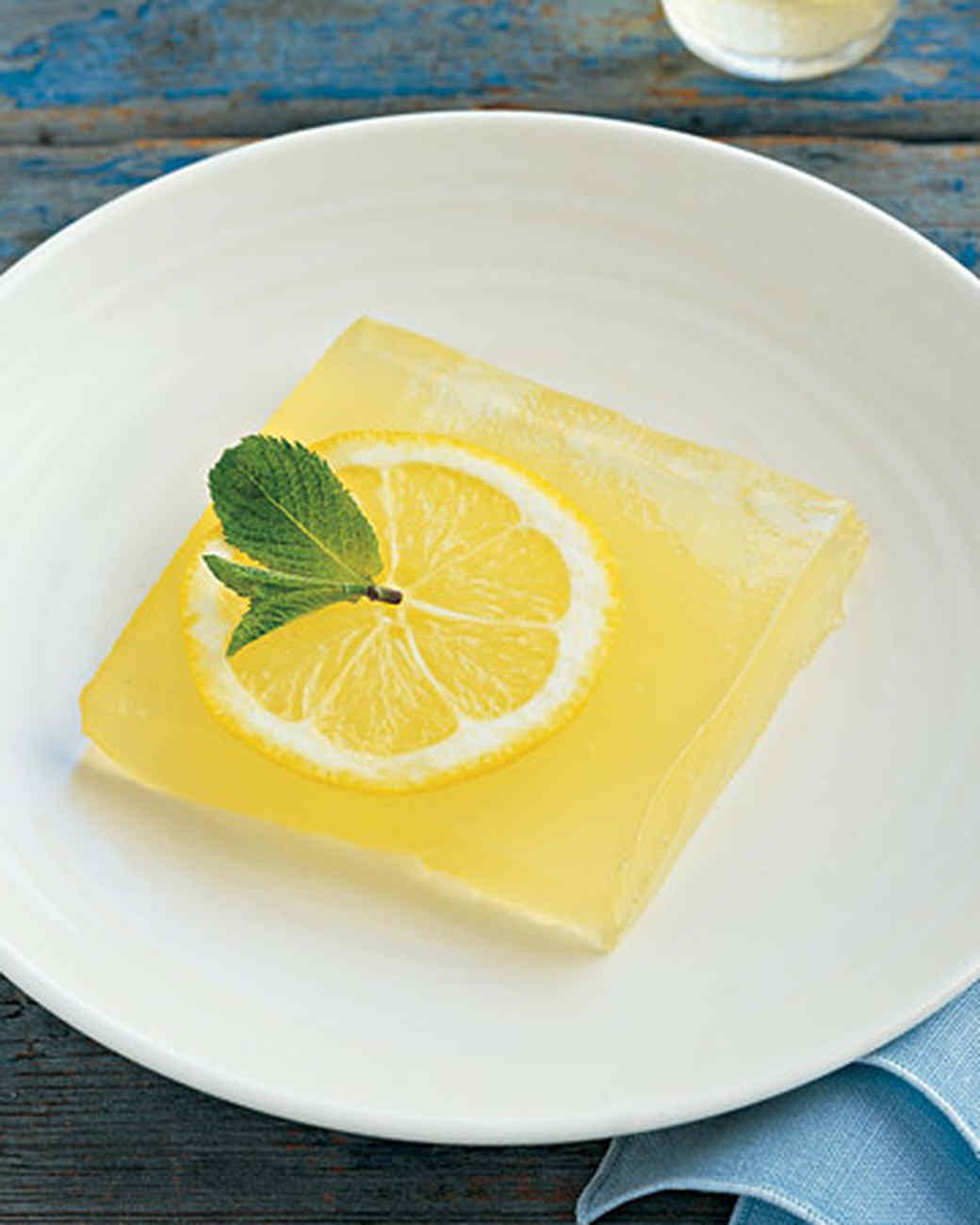 Limoncello Gelee