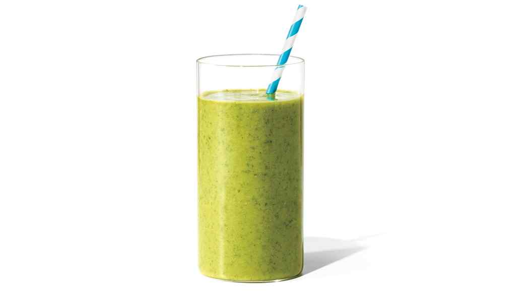 Avocado, Spinach, and Pear Smoothie