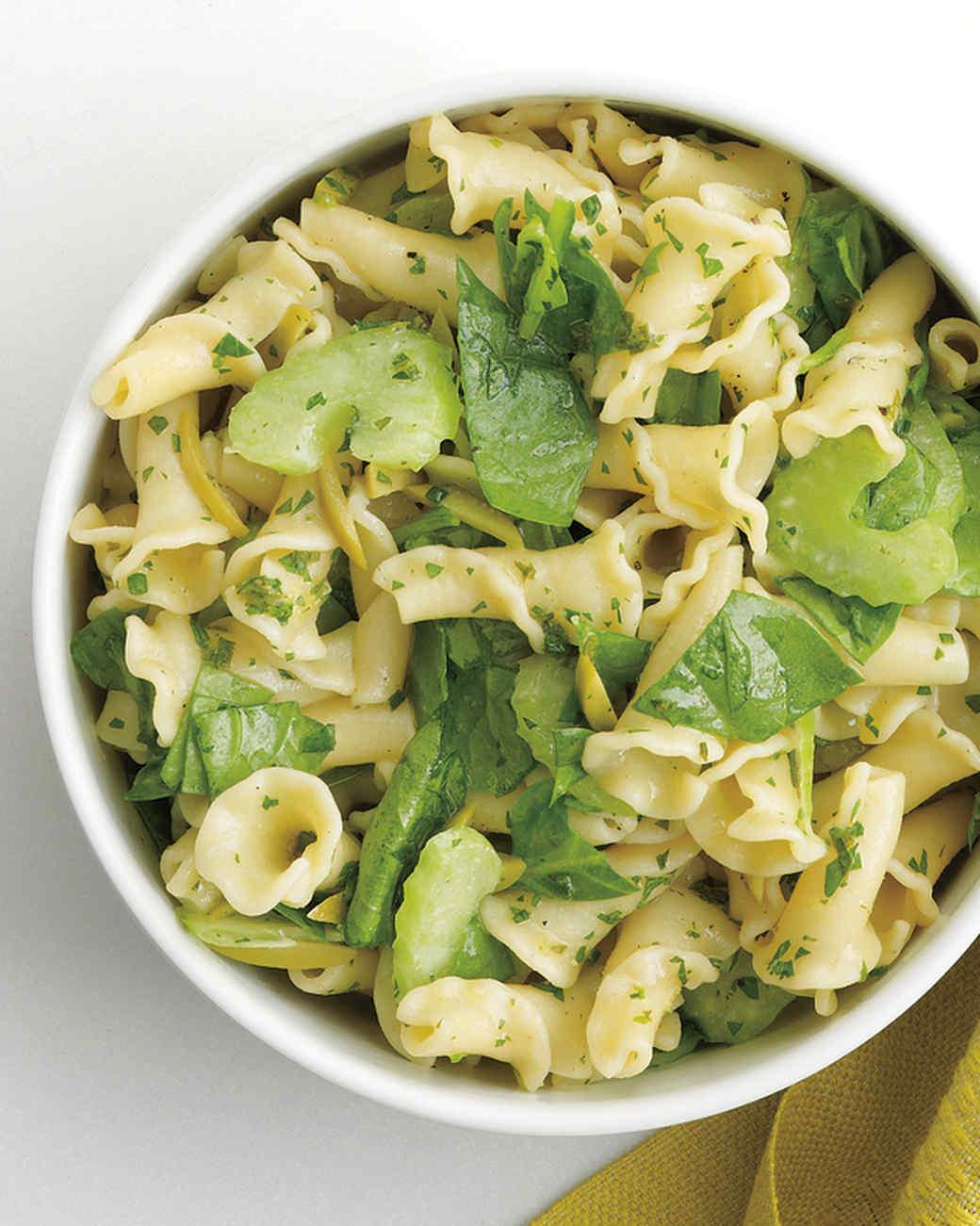 Basil spinach pasta recipe