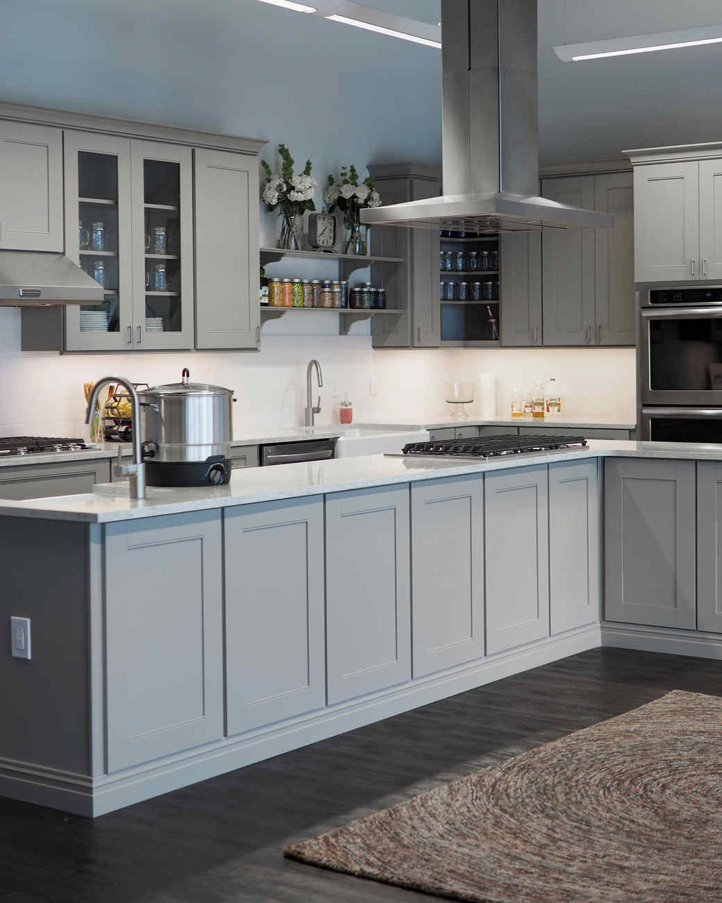 Go for the Gray. 15 Game Changing Kitchen Remodel Ideas   Martha Stewart
