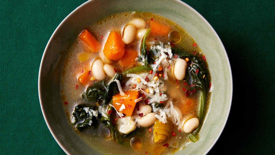 Slow-Cooker White-Bean Soup