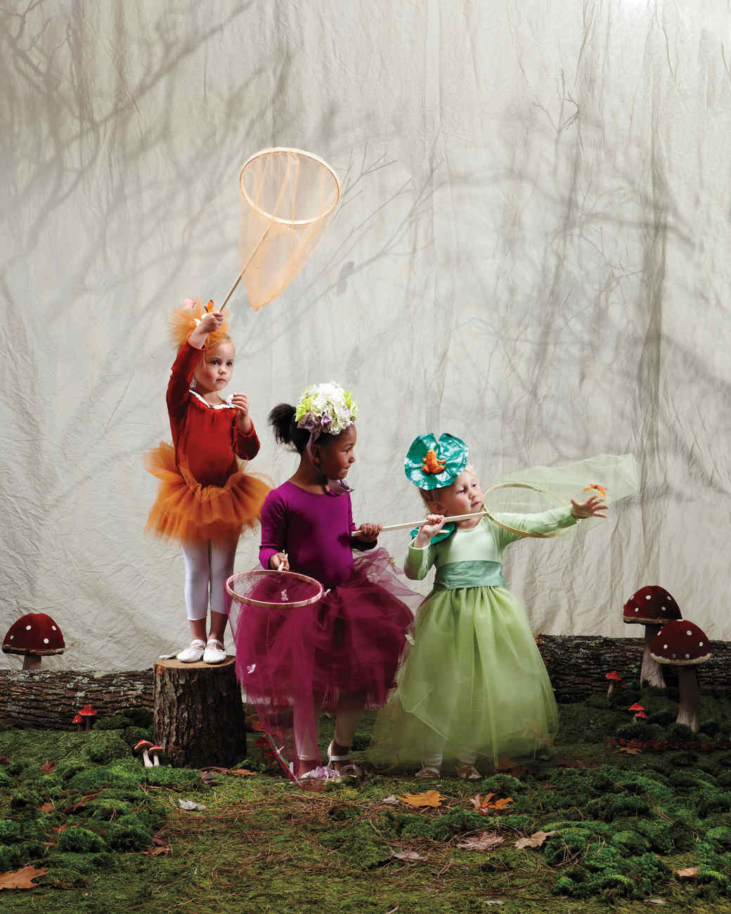 Woodland Fairy and Sprite Costumes