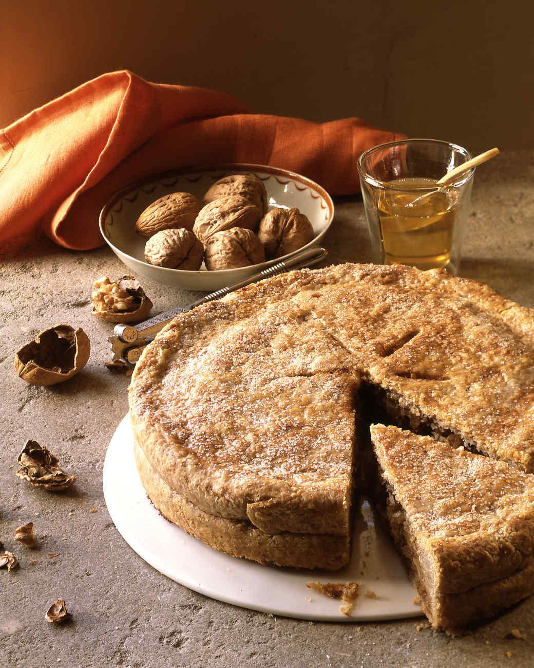 honey walnut pie
