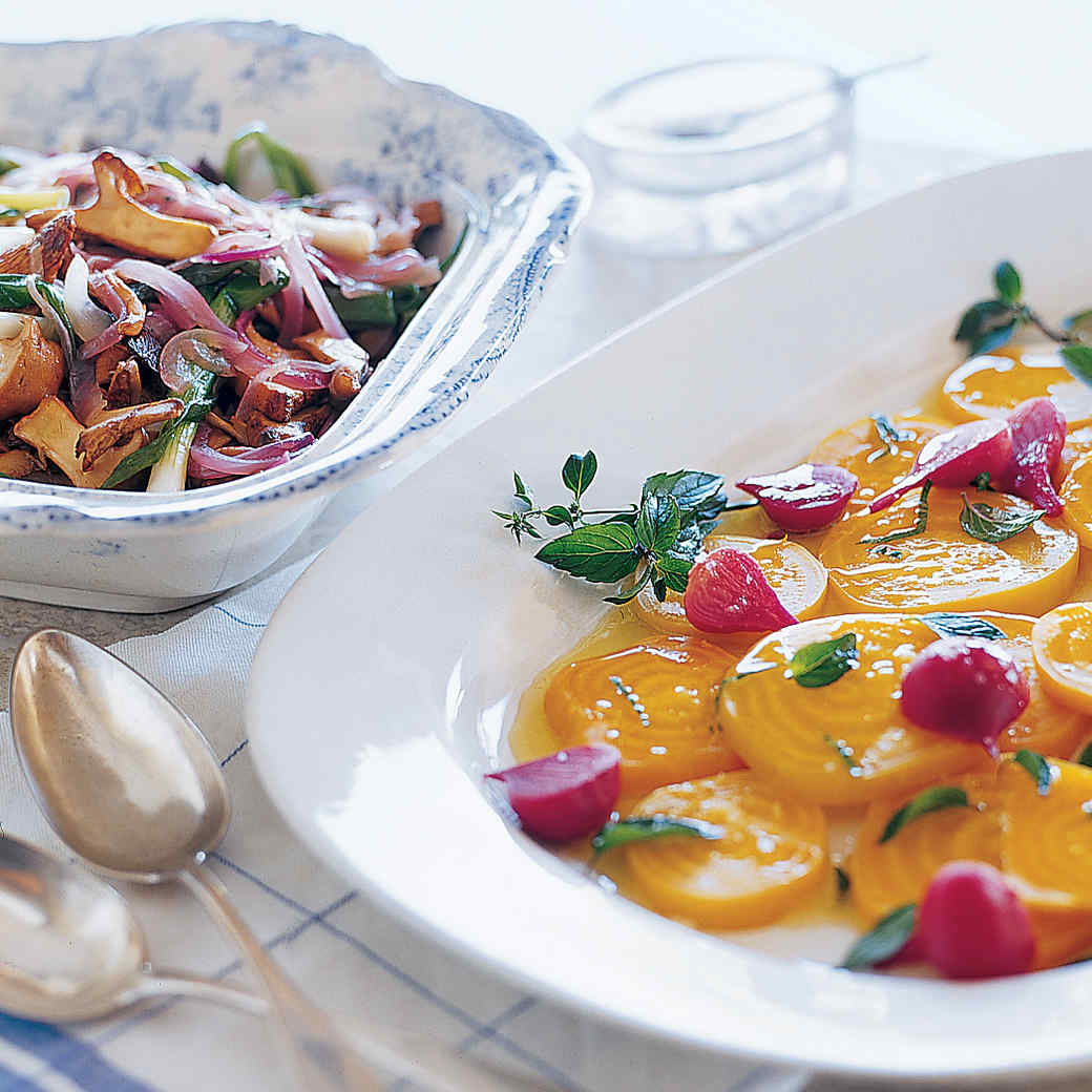 Beets with Citrus-Mint Dressing