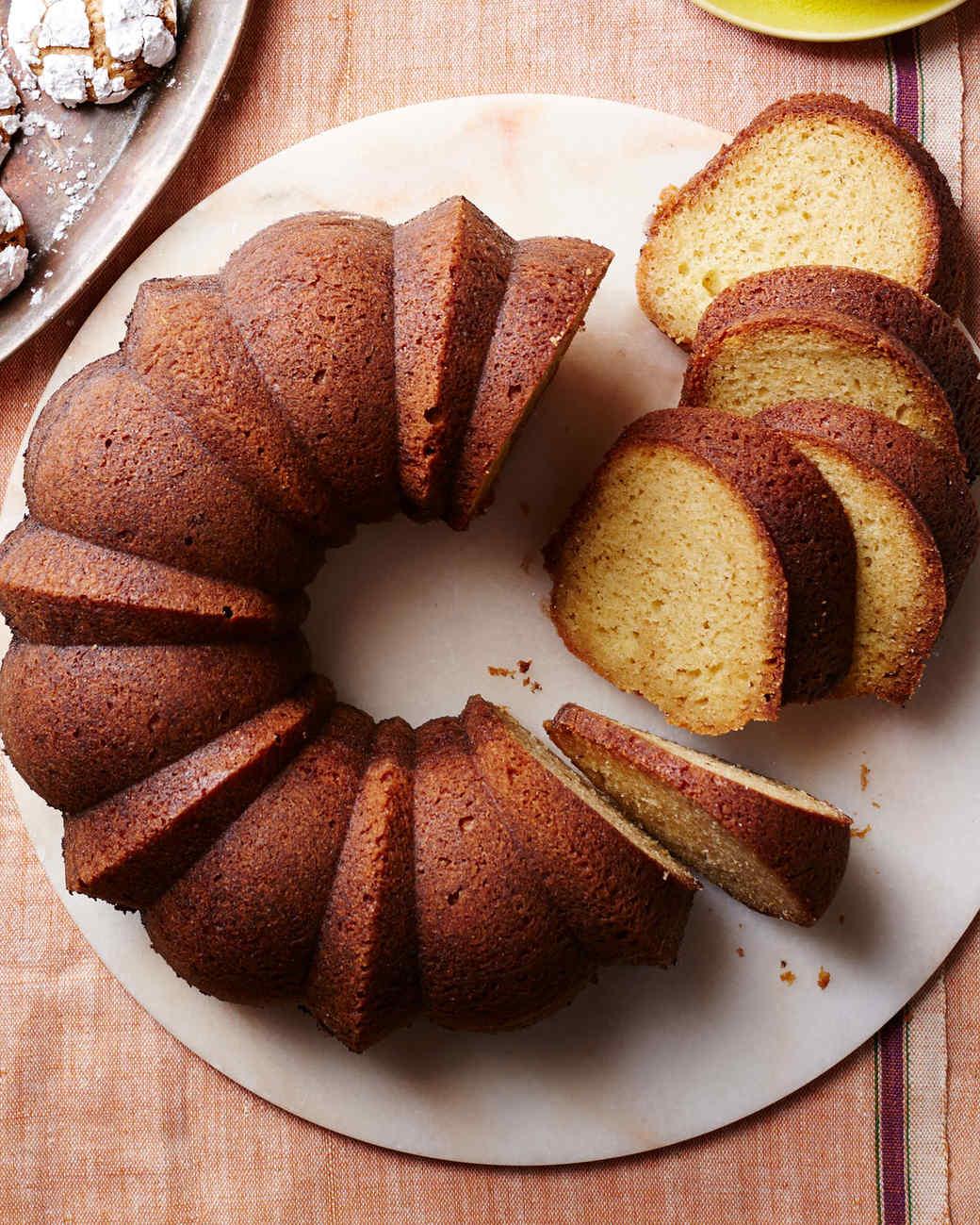 Kentucky Bourbon-Brown Butter Cake Recipe