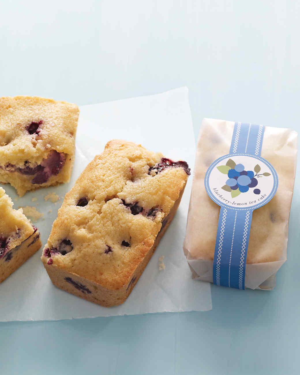 Martha Stewart Blueberry Lemon Tea Cake Recipe