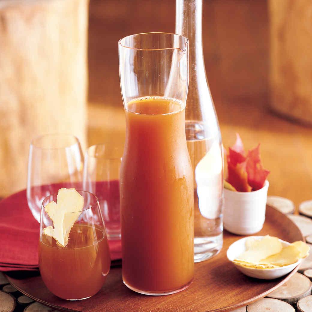 Chai-Spiced Cider Spritzers