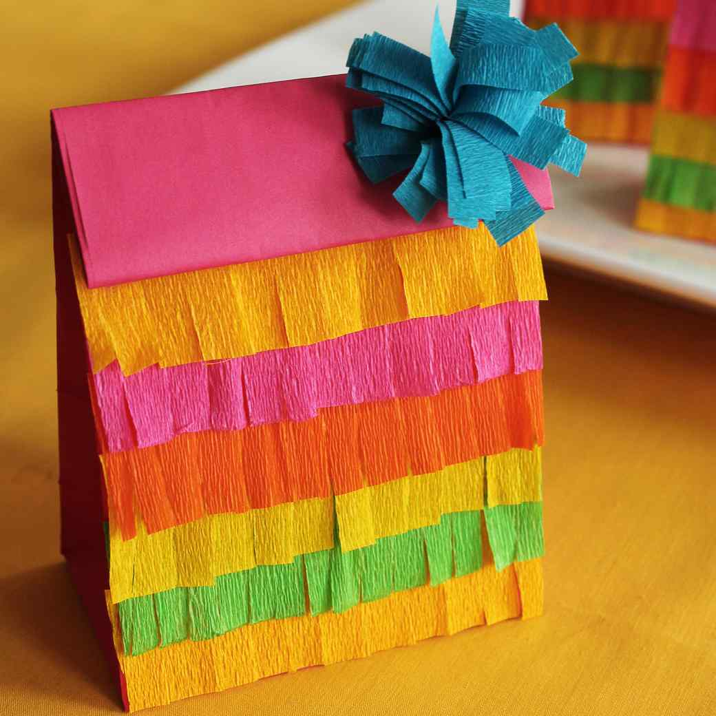 Fringed Party Favor Bags