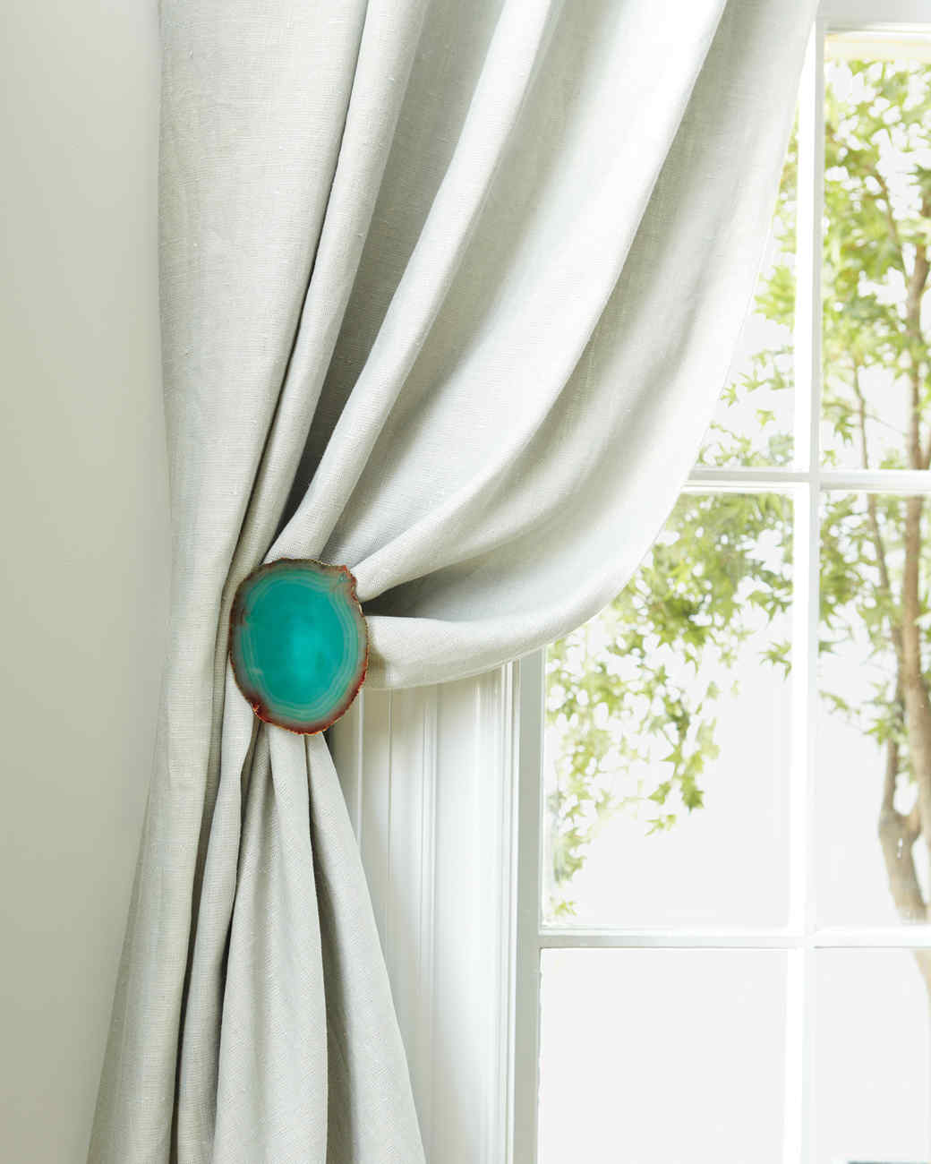decorative curtain tiebacks | martha stewart