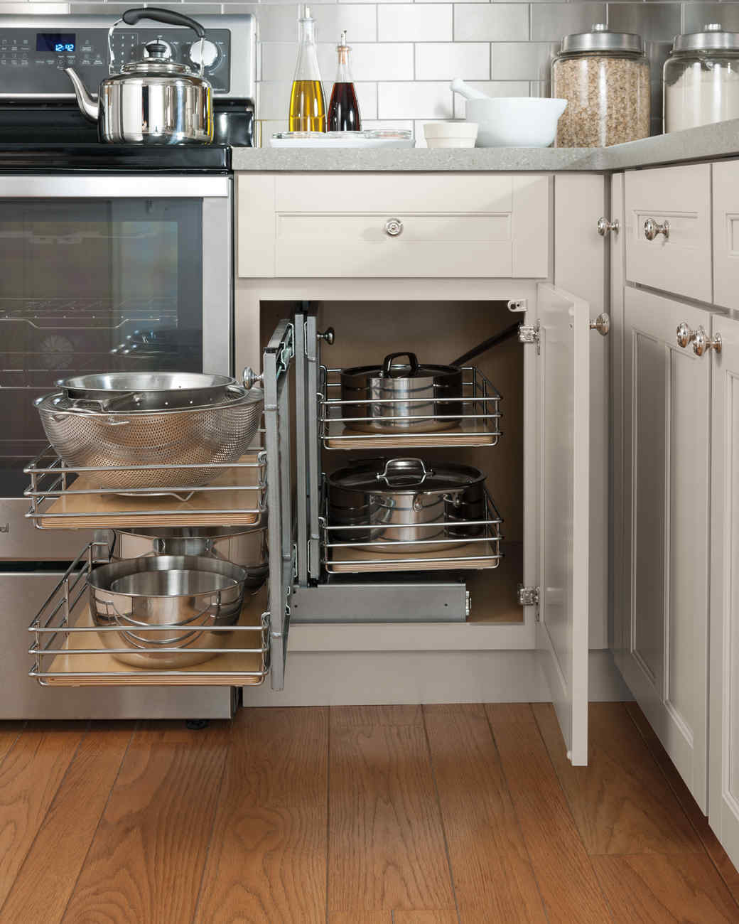 home depot pot storage pullout kitchen