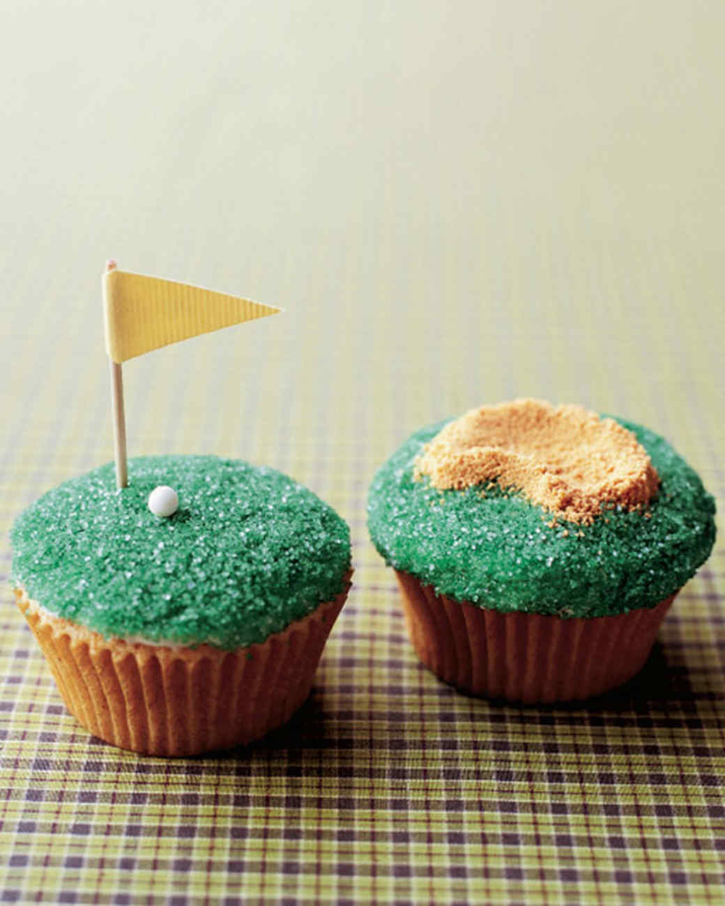father 39 s day tee time cupcakes recipe martha stewart. Black Bedroom Furniture Sets. Home Design Ideas