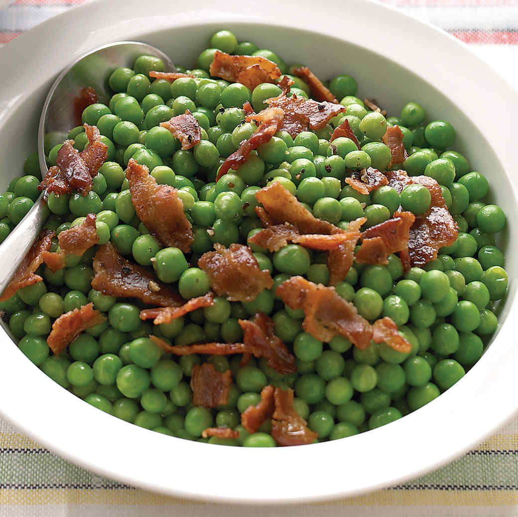 Peas with Bacon