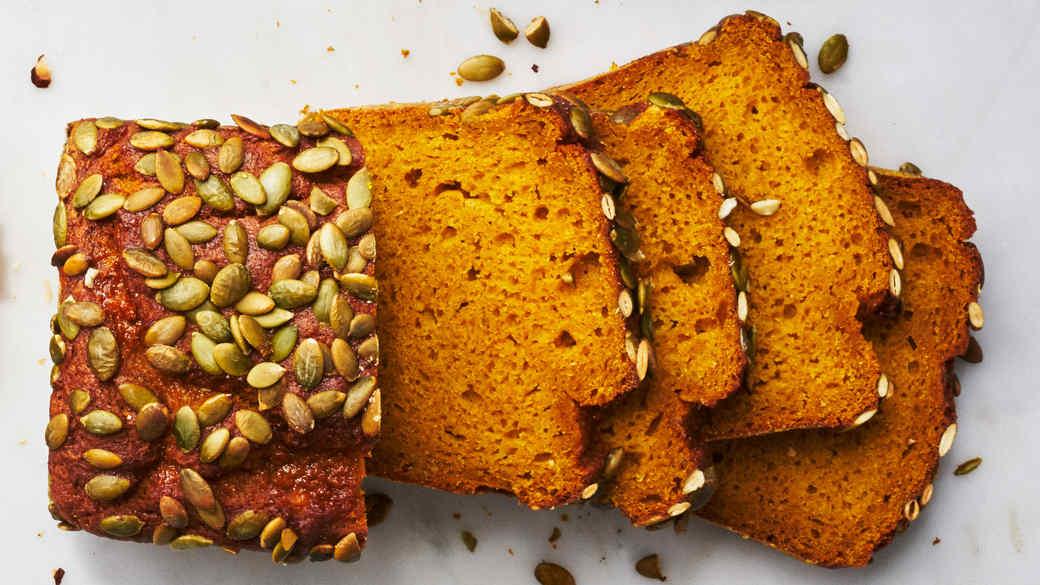 pumpkin orange bread