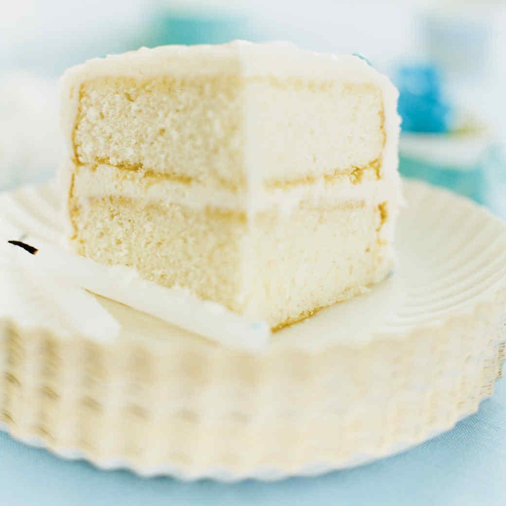 Basic White Sheet Cake